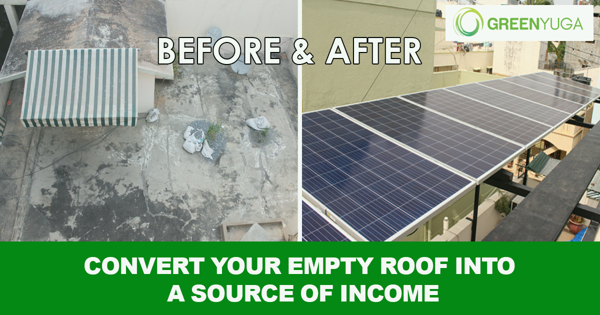 How to Convert Your Empty Roof in to Source Of Income?