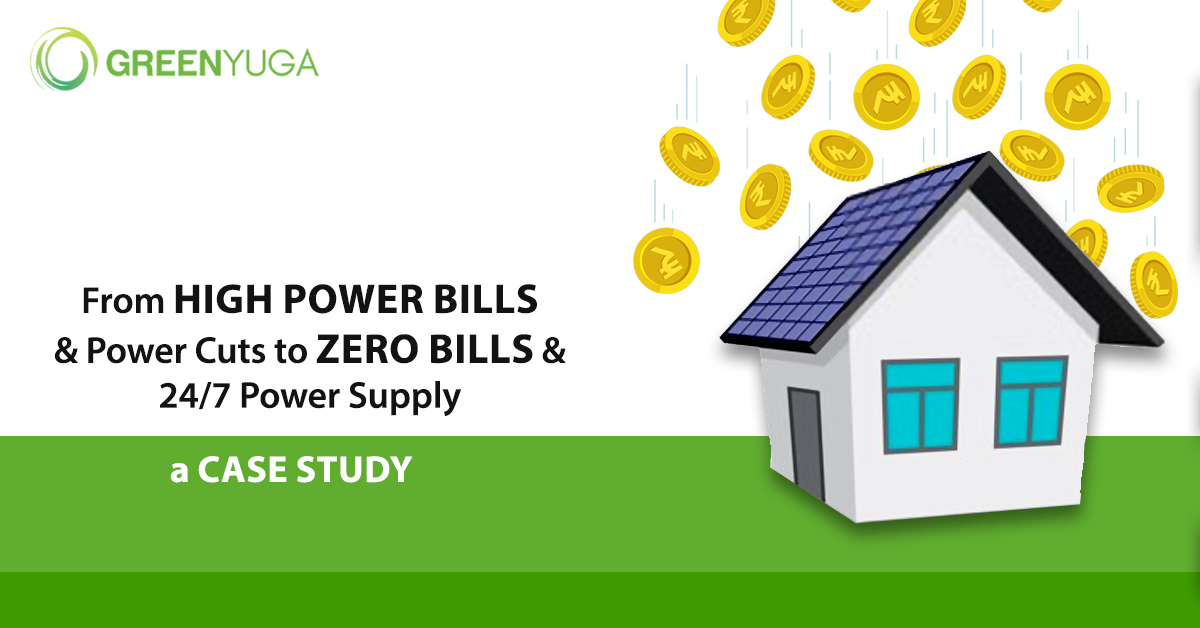 From High Power Bills to Inexpensive Hybrid Solar Energy- A Case Study